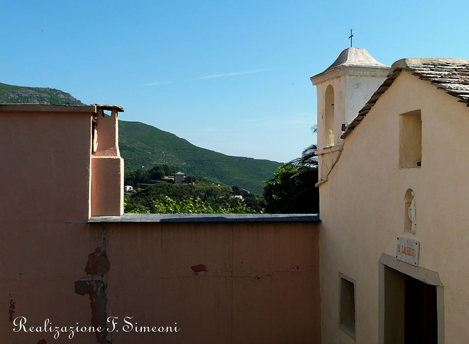 CIPRUNASCU vue à partir de la chapelle San Lorenzu